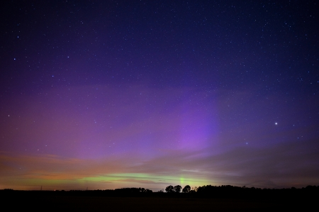 The aurora borealis as seen from the Netherlands on 16-07-2012 photo