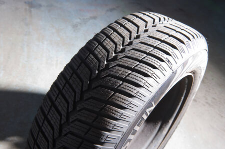 winter tyre: The profile of a winter tyre