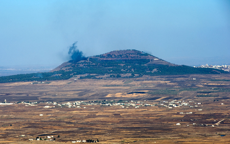 bombardment: Explosions from the war in Syria