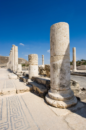 archaeology: Ruins of the roman in Beit She