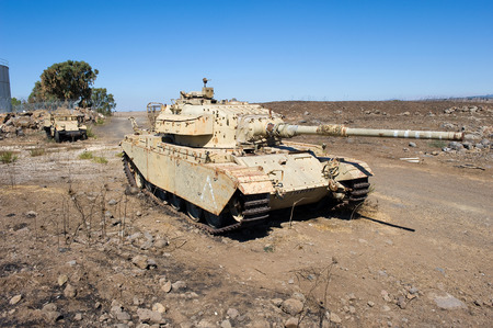 tal: Centurion tank left of the yom kippur war on Editorial