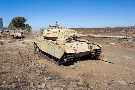 yom kippur: Centurion tank left of the yom kippur war on Editorial