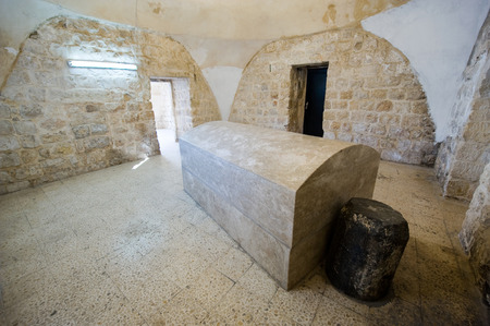 jacob: NABLUS, ISRAEL - OCT 05, 2014: The tomb of patriarch Joseph in Nablus. Joseph is the son of Jacob. He is buried here with his two son