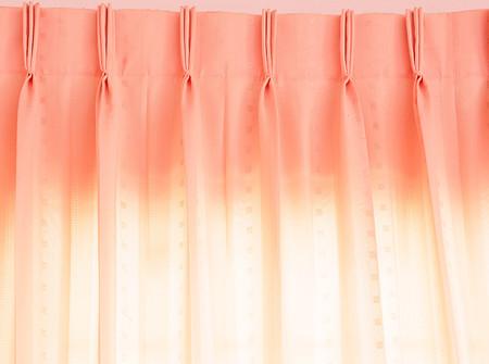 pinkish: Pinkish orange curtains, Background and texture
