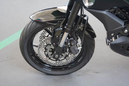 Frenos de la motocicleta Foto de archivo - 76257374