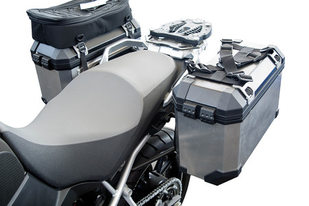 saddlebag: Box equipment of Motorcycle