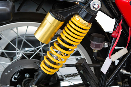 Shock Absorber System for Motorcycle