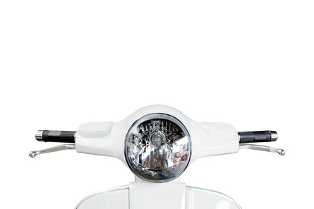 Motorcycle headlight, Front of Motorcycle Imagens