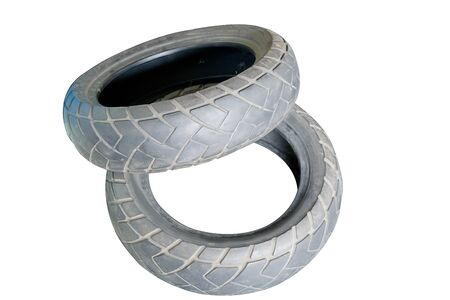 Old Rubber for Motorcycle