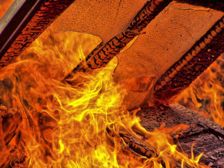 conflagration: Flame Stock Photo
