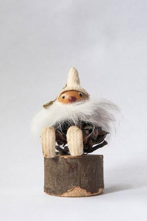 Toy Baba Yaga or Boogeyman Banco de Imagens