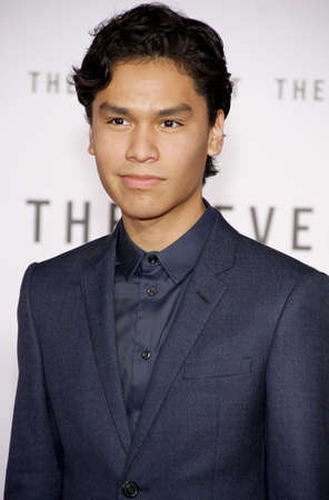 goodluck: HOLLYWOOD, CA - Forrest Goodluck at the Los Angeles premiere of The Revenant held at the TCL Chinese Theatre in Hollywood, USA on December 16, 2015. Editorial