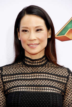 liu: Lucy Liu at the Los Angeles premiere of Kung Fu Panda 3 held at the TCL Chinese Theater in Hollywood, USA on January 16, 2016. Editorial