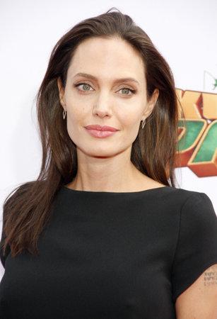 """Angelina Jolie bei der Los Angeles Premiere von """"Kung Fu Panda 3 'an der TCL Chinese Theater in Hollywood statt, USA am 16. Januar 2016. Standard-Bild - 50728864"""