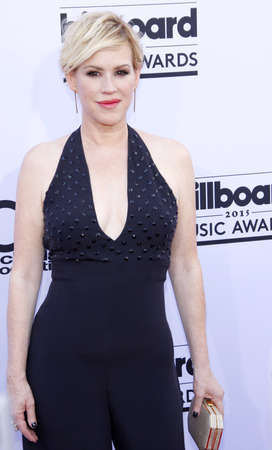 molly: Molly Ringwald at the 2015 Billboard Music Awards held at the MGM Garden Arena in Las Vegas, USA on May 17, 2015. Credit: Lumeimages.com