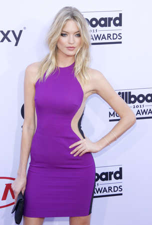 martha: Martha Hunt at the 2015 Billboard Music Awards held at the MGM Garden Arena in Las Vegas, USA on May 17, 2015.