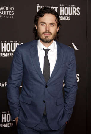 casey: Casey Affleck at the World premiere of The Finest Hours held at the TCL Chinese Theatre in Hollywood, USA on January 25, 2016.