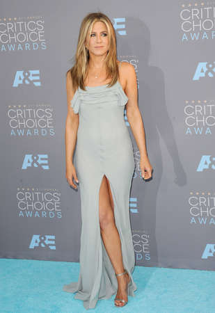 barker: Jennifer Aniston at the 21st Annual Critics Choice Awards held at the Barker Hangar in Santa Monica, USA on January 17, 2016.