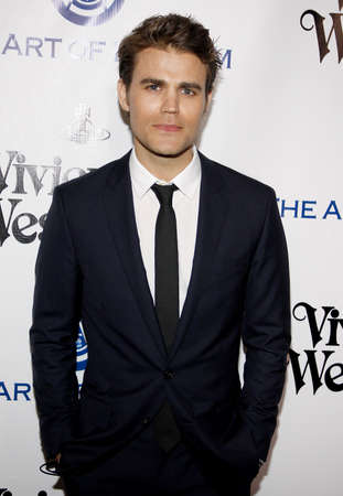 culver city: Paul Wesley at the Art Of Elysiums 9th Annual Heaven Gala held at the 3LABS in Culver City, USA on January 9, 2016.