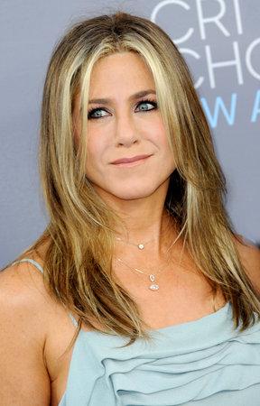 critics: Jennifer Aniston at the 21st Annual Critics Choice Awards held at the Barker Hangar in Santa Monica, USA on January 17, 2016.