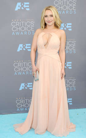 barker: Hayden Panettiere at the 21st Annual Critics Choice Awards held at the Barker Hangar in Santa Monica, USA on January 17, 2016.