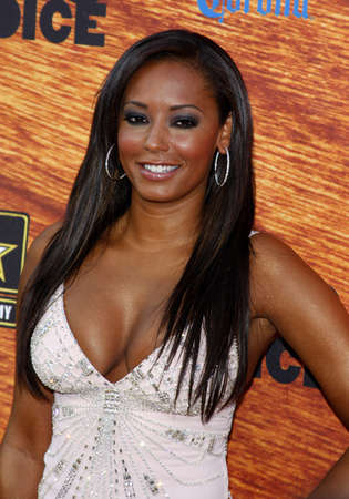 Melanie Brown aka Mel B attends the Spike TV 2nd Annual Guys Choice Awards held at the Sony Pictures Studios in Culver City, California, United States on May 30, 2008. Editorial