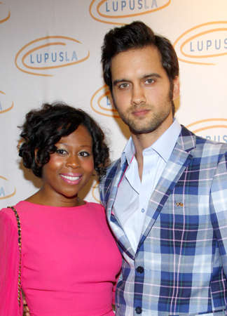 tucker: LOS ANGELES, CA  - MAY 24, 2012. Michael Steger and Brandee Tucker at the 12th Annual Lupus LA Orange Ball held at the Beverly Wilshire Hotel in Beverly Hills, USA on May 24, 2012.