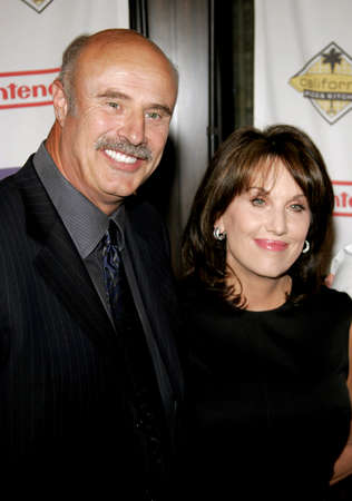 mcgraw: Dr. Phil McGraw and wife Robin McGraw attend the 2007 Starlight Starbright Children Foundation Gala held at the Beverly Hilton Hotel in Beverly Hills, California on March 23, 2007.