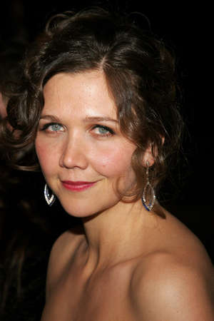 golden globe: Maggie Gyllenhaal attends the 2007 Paramount Pictures Golden Globe Award After-Party held at the Beverly Hilton Hotel in Beverly Hills, California, on January 15, 2007. Editorial