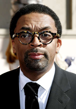 Spike Lee at the 2007 Primetime Creative Arts Emmy Awards held at the Shrine Auditorium in Los Angeles on September 8, 2007.