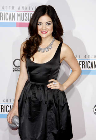 hale: Lucy Hale at the 40th Anniversary American Music Awards held at the Nokia Theatre L.A. Live in Los Angeles, United States, 181112.