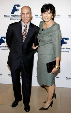 jeffrey: BEVERLY HILLS, CA - NOVEMBER 20, 2006: Jeffrey Katzenberg and Marilyn Katzenberg at the 2006 Los Angeles Free Clinic Annual Dinner Gala held at the Beverly Hilton Hotel in Beverly Hills, USA on November 20, 2006. Editorial