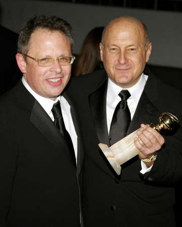 laurence: Bill Condon and Laurence Mark attend the 2007 Paramount Pictures Golden Globe Award After-Party held at the Beverly Hilton Hotel in Beverly Hills, California, on January 15, 2007.