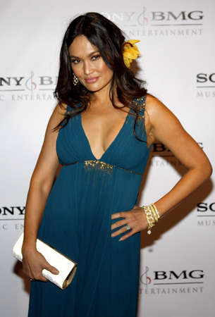 after the party: Tia Carrere at the 2008 SonyBMG Grammy After Party held at the Beverly Hills Hotel in Beverly Hills on February 10, 2008.