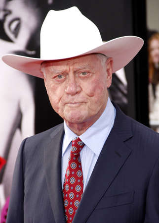 tcm: Larry Hagman at the 2012 TCM Classic Film Festival Gala Screening of Cabaret held at the Graumans Chinese Theater in Hollywood on April 12, 2012.