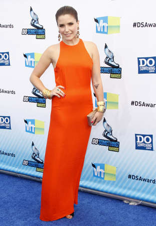 barker: Sophia Bush at the 2012 Do Something Awards held at the Barker Hangar in Santa Monica on August 19, 2012.