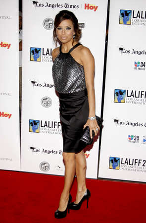 HOLLYWOOD, CA - OCTOBER 11, 2009: Eva Longoria at the 13th Annual Los Angeles Latino International Film Festival Opening Gala held at the Graumans Chinese Theater in Hollywood, USA on October 11, 2009. Editorial