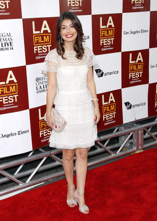 Alessandra Mastroianni at the 2012 Los Angeles Film Festival premiere of To Rome With Love held at the Regal Cinemas L.A. LIVE Stadium in Los Angeles, USA on June 14, 2012.