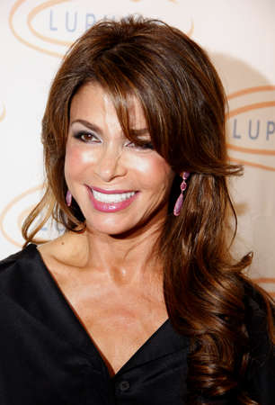to paula: LOS ANGELES, CA - MAY 24, 2012. Paula Abdul at the 12th Annual Lupus LA Orange Ball held at the Beverly Wilshire Hotel in Beverly Hills, USA on May 24, 2012. Editorial