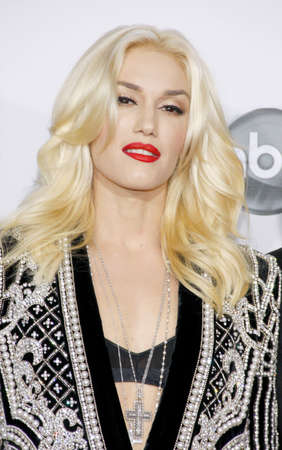 american music: Gwen Stefani at the 40th Anniversary American Music Awards held at the Nokia Theatre L.A. Live in Los Angeles, United States, 181112.