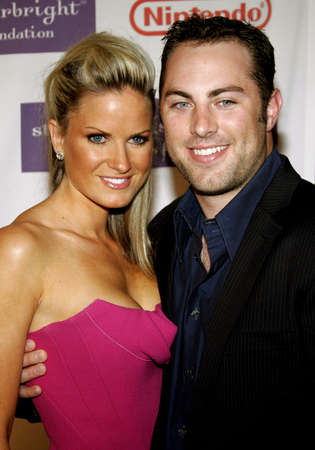 mcgraw: Erica Dahm and Jay McGraw attend the 2007 Starlight Starbright Children Foundation Gala held at the Beverly Hilton Hotel in Beverly Hills, California on March 23, 2007. Editorial