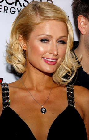 Paris Hilton attends the Summer Stars Party 2008 held at the Social in Hollywood, California, United States on May 22, 2008. Редакционное