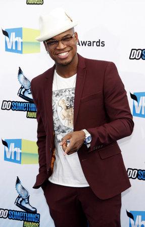 barker: Ne-Yo at the 2012 Do Something Awards held at the Barker Hangar in Santa Monica on August 19, 2012.