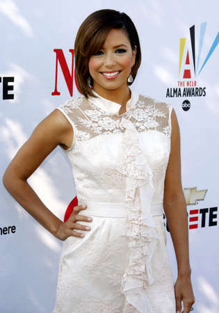 alma: Eva Longoria Parker at the 2008 ALMA Awards Nominees Press Conference held at the Wisteria Lane, Universal Studios Back Lot in Hollywood, California, United States on July 21, 2008. Editorial