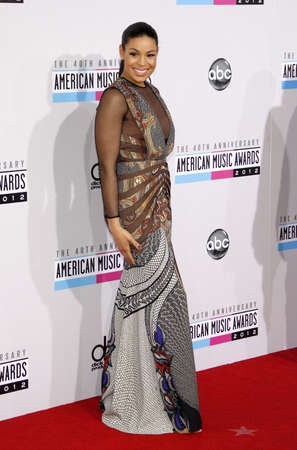 Jordin Sparks at the 40th Anniversary American Music Awards held at the Nokia Theatre L.A. Live in Los Angeles, United States, 181112. Redakční