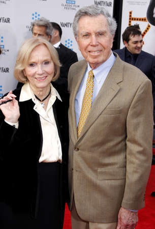 jeffrey: Eva Marie Saint and Jeffrey Hayden at the 2012 TCM Classic Film Festival Gala Screening of Cabaret held at the Graumans Chinese Theater in Hollywood on April 12, 2012.