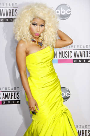 american music: Nicki Minaj at the 40th Anniversary American Music Awards held at the Nokia Theatre L.A. Live in Los Angeles, United States, 181112.