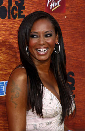 mel: Melanie Brown aka Mel B attends the Spike TV 2nd Annual Guys Choice Awards held at the Sony Pictures Studios in Culver City, California, United States on May 30, 2008. Editorial
