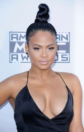 christina: Christina Milian at the 2015 American Music Awards held at the Microsoft Theater in Los Angeles, USA on November 22, 2015. Editorial