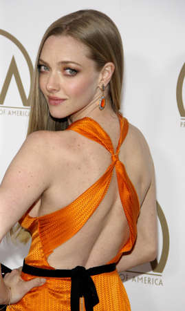 guild: Amanda Seyfried at the 24th Annual Producers Guild Awards held at the Beverly Hilton Hotel in Beverly Hills, USA on January 26, 2013. Editorial